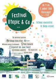 affiche Festival Utopic & Co