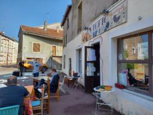 Déjeuner des auditeurs de l'IHEDATE aux Café UtopiC de Mirecourt